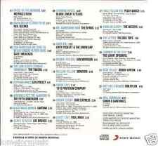 RARE 60'S CD SANTANA simon & garfunkel  ELVIS PRESLEY byrds DONOVAN bob dylan