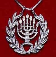 COOL Jewish Hanukkah Real Sterling Silver 925 Judaism Pendant Charm menorah Jewe