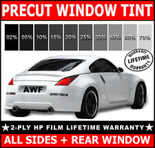 2ply HP All Sides + Rear PreCut Window Film Any Tint Shade VLT for JAGUAR Glass