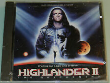 Highlander II - OOP '91 Soundtrack STILL SEALED Glenn Hughes