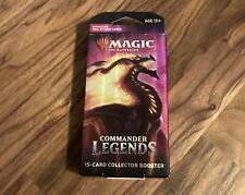 Magic The Gathering Commander Legends Collector Booster Pack 15 Cards Blister