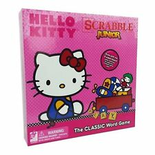 Hasbro Hello Kitty Scrabble Jr. The Classic Board Game 2 Sided