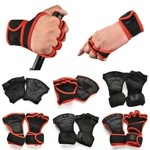 New Pro Weight Lifting Training Hook Grips Straps Gloves Suppor W Z8R7 C4Q1