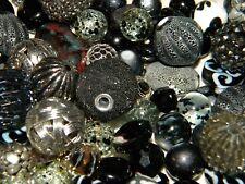 NEW 20 Jesse James Beads lot Randomly Pick Mix of Black/ Silver/ Gray