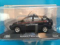 """DIE CAST """" RENAULT RX4 - 2003 CARABINIERI """" SCALA 1/43 CARABINIERI"""
