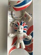 Londres jeux olympiques 2012 team gb pride the lion mascotte porte-clés