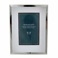 """Northlight Silver Picture Frame- 4"""" x 6"""""""