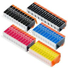 50x TINTE DRUCKER PATRONEN IP4300 MP970 MX700 MX850 IP3300 IP3500 IP4200 IP4200X