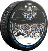 St. Louis Blues 2019 NHL Stanley Cup Champions Celebration Photo Hockey Puck