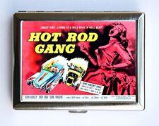 Hot Rod Gang Cigarette Case Wallet Business Card Holder rockabilly rock n roll
