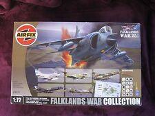Airfix 1/72 Guerre des Malouines collection * NEUF * Busard Skyhawk Etendard Pucara 98670