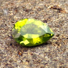 PERIDOT-ARIZONA 1.32Ct FLAWLESS-NATURAL LIME/APPLE GREEN COLOR-FOR JEWELRY!