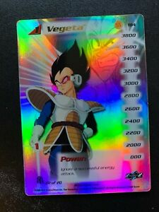 Vegeta LV 1 184 | Saiyan Saga Hi Tech Foil 20 of 20 | Personality NM (A)