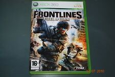 FRONTLINES FUEL OF WAR XBOX 360 GB PAL