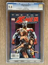 X-Men: The End - Heroes and Martyrs #3 COMIC 2004 CENSUS ONLY 8 GRADED CGC 9.8