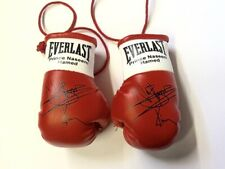 Autographed Mini Boxing Gloves Prince Naseem Hamed