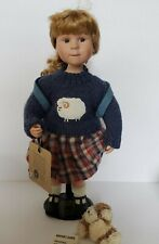 Boyds Brittany & Buddy Porcelain Doll My Best Friend Style 4839 COA