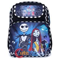 """Disney Nightmare Before Christmas Jack & Sally Skellington 16 """" Backpack Color"""