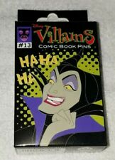 Disney Pins  VILLAINS Comic Book  New & Sealed 2-Pin Mystery Box Free Shipping