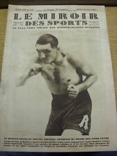 02/10/1928 Le Miroir Des Sports Magazine: Number: 450, Content To Include, Aviat