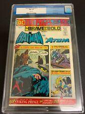 BRAVE AND THE BOLD #115 * CGC 9.2 * (DC, 1974) JIM APARO ART! 100 PAGE GIANT