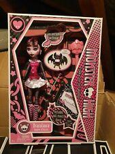Monster High Draculaura 1st Wave Serie 1 diario conteo Fabulosa 2010 Nuevos Y En Caja