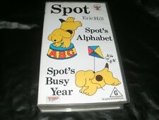 SPOTS ALPHABET AND BUSY YEAR~ VHS PAL VIDEO~