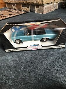1995 Ertl American Muscle 1:12 Diecast 1964 Pontiac GTO Convertible Car in Box