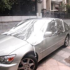 Car Half Body Sun Shade Cover Waterproof Reflective Sunscreen UV Snow Protection