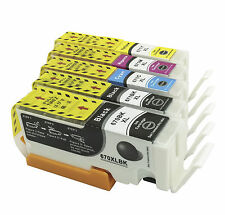 5x Ink Cartridges 670 671xl for Canon PIXMA MG5760 MG5765 MG5766 MG6860 Printers