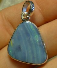 O&co Pendentif opale boulder queensland australie lithothérapie cadeau noël