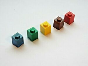 LEGO BRICK 1X1 (PACK OF 5) item 3005 SELECT COLOUR AND AMOUNT