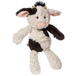"Mary Meyer Putty Nursery Cow 11"" Plush Stuffed Animal Baby Toy"