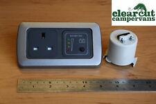 Campervan CBE 240v Socket and 12v Battery Tester, Motorhome, Caravan 240v Socket