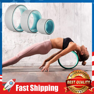 3 Pack Yoga Wheel Set for Back Pain & Stretching Strongest Yoga Prop Wheel