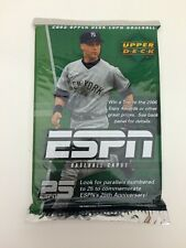 2005 Upper Deck ESPN Baseball Card Hot Pack Guaranteed Auto Or Relic