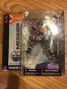 McFarlane 2003 Mark Messier Edmonton Oilers NHL series 5
