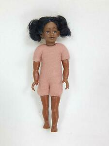 Heidi Ott Dollhouse Miniature 1:12 Kid Children BLACK Girl Doll Body #XKK08