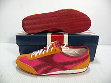 REEBOK RACEDAY RIP STOP LOW WOMEN SHOES PINK/RED/ORANGE 1-151190 SIZE 5.5 NEW