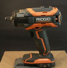 "RIDGID R86011 18v 1/2"" Cordless Impact Wrench Brushless 4-Mode Gen5x Tool Only"