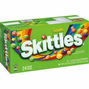 Aigre Skittles 53ml, 24-count