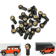 20PCS Aluminum M3 Link Rod End Ball Joint CW CCW for 1/10 RC Car Parts Crawler B