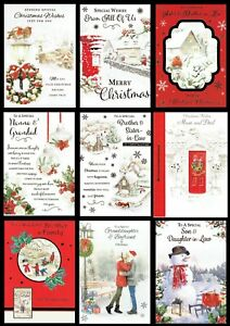 CHRISTMAS CARD Quality cards SOMETHING FOR EVERYONE ~ ONLY 99p Each Card