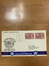 Canada 1937 First Flight Cover