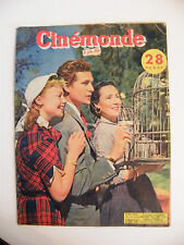 Cinémonde No.915 February 1952 Dolores of the Rio Dany Robin Georges Marchal