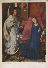 Alte Kunstpostkarte - van der Weyden - Dreikönigsaltar
