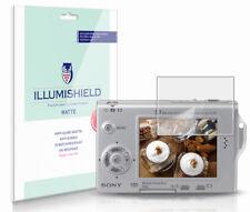 iLLumiShield Anti-Glare Matte Screen Protector 3x for Sony Cybershot DSC-T7