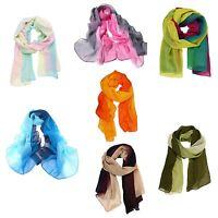 Fashion Girls Womens' Long Soft Wrap Lady Shawl Silk Chiffon Neck Scarf New