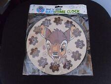 Nuevo ~ Wet 'n Stick ~ Bambi ~ Hora Reloj.
