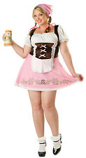InCharacter Womens Fetching Fraulein Oktoberfest Plus Size Adult Costume Size 3X